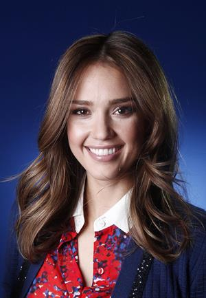 Jessica Alba portrait shoot to promote Honest.com in New York City on January 17, 2012