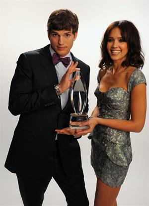 Jessica Alba portraits during the Peoples Choice Awards 2010 held at Nokia Theatre on 06-01-2010 in LA