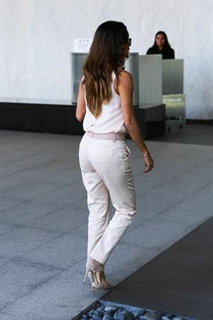 Eva Longoria candids in Century City 11/5/13