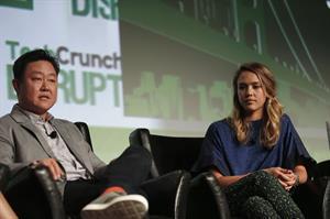 Jessica Alba - TechCrunch Disrupt SF event in San Francisco - September 10, 2012