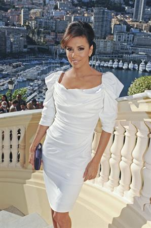 Eva Longoria - Cocktail at Monaco State Minister during 52nd Monte Carlo TV Festival in Monaco (June 13, 2012)