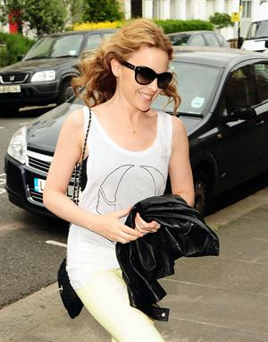 Kylie Minogue in London on June 1, 2012