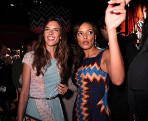 Alessandra Ambrosio Missoni for Target Collection launch at the Tissoni for Target Pop Up Store 07.09.11