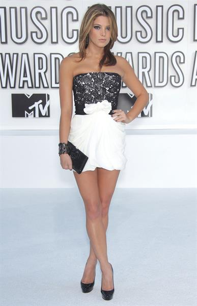Ashley Greene at the 2010 MTV video music awards on December 9, 2010