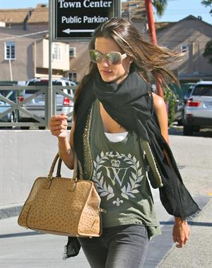 Alessandra Ambrosio out in Brentwood on January 28