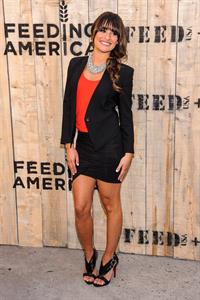 Lea Michele Target and FEED Launch NYC   19.06.2013