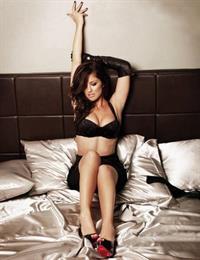 Minka Kelly in lingerie