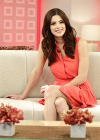Ashley Greene appearing on the Today show in New York City Nov 17, 2011