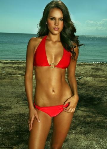 Kari Klinkenborg in a bikini