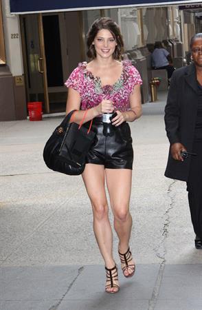 Ashley Greene walking in New York City (candids)