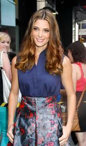 Ashley Greene - Leaving Good Afternoon America studios, NYC - August 24, 2012