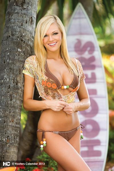 Jamie Gunnels in a bikini