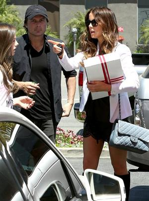 Kate Beckinsale at The Sirestaurant in Studio City April 20-2013