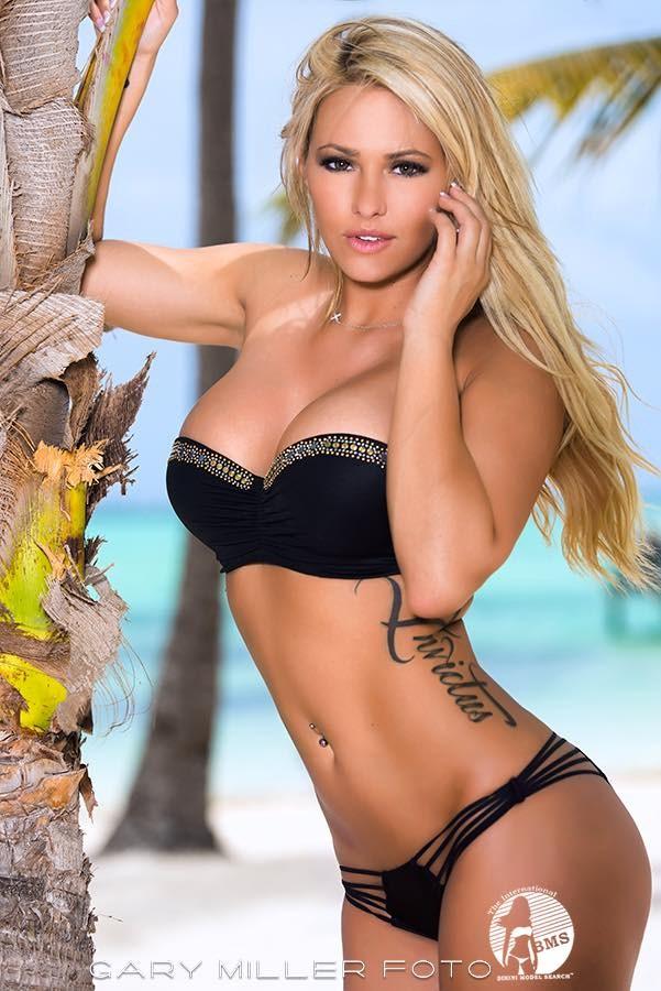 Kindly Myers in a bikini