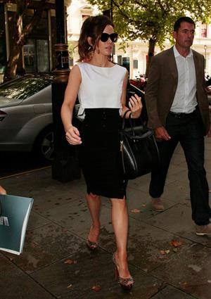 Kate Beckinsale - at the studios of Radio 1 in London August 16, 2012