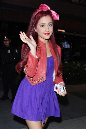 Ariana Grande at the Nokia theater in Los Angeles 07-08-11