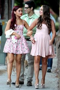 Ariana Grande 19th birthday party Eleven restaurant June 25, 2012
