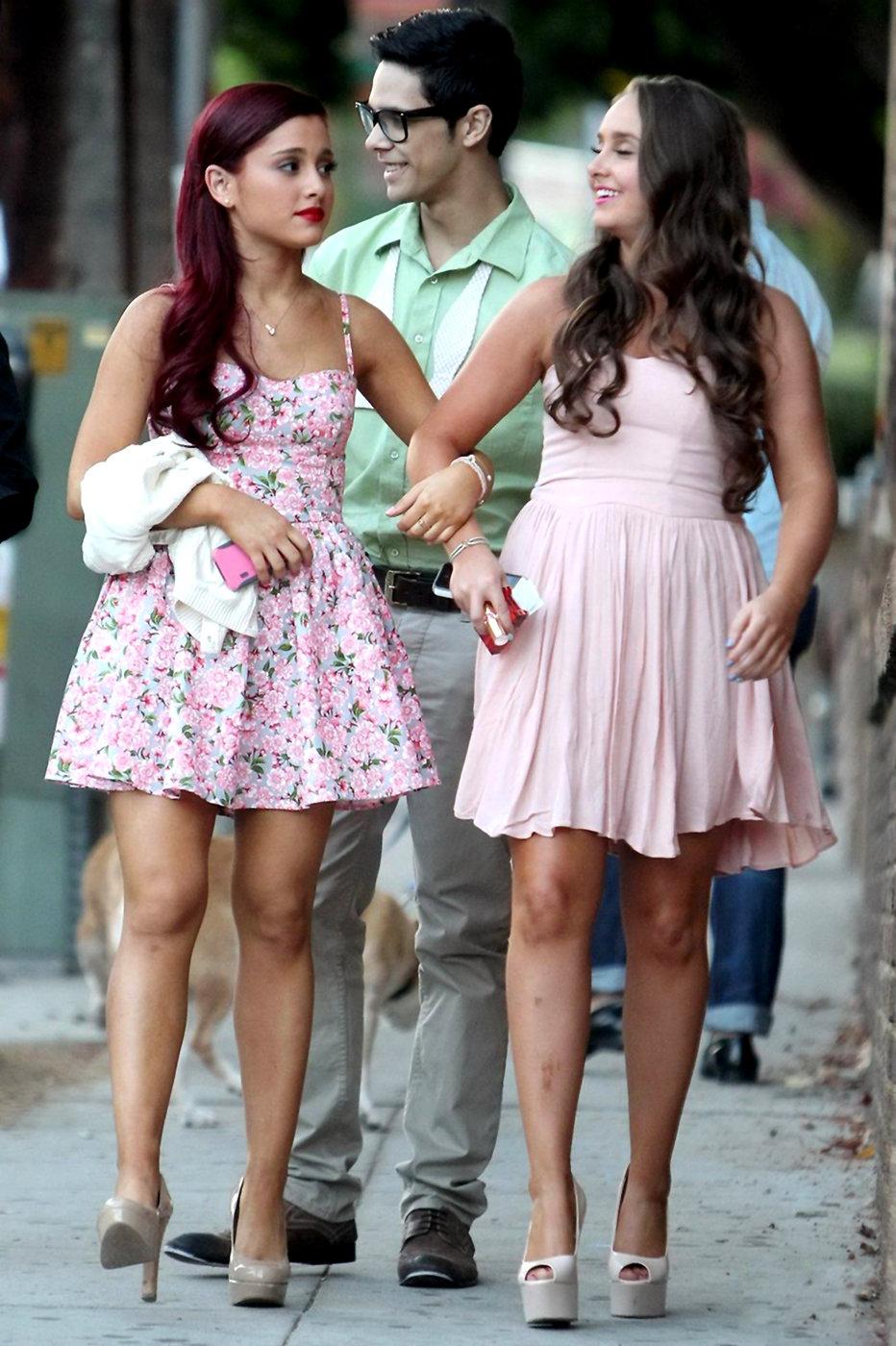 Ariana Grande 19th birthday party Eleven restaurant June 25, 2012