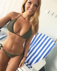 Sofia Bevarly in a bikini
