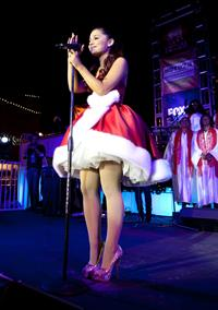 Ariana Grande Citadel Outlet's 11th annual Tree Lighting Ceremony and Concert in LA 11/10/12