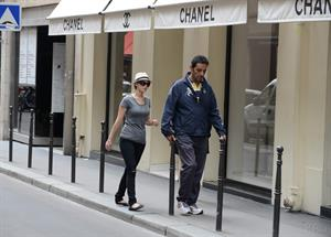 Jennifer Lawrence out about in Paris, France on 3-7-2012