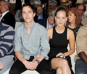 Jennifer Lawrence Amber Lounge Fashion Show in Monaco on May 25, 2012