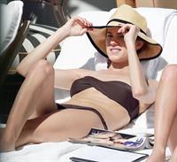 Allison Williams in a bikini