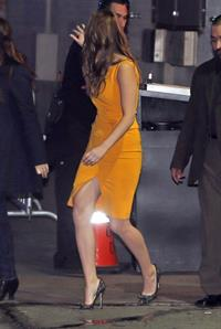Jennifer Lawrence Leaving the Jimmy Kimmel Live (January 31, 2013)