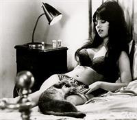 Arlene Tiger in lingerie