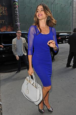 Sofia Vergara - Good Afternoon America in New York - August 28, 2012