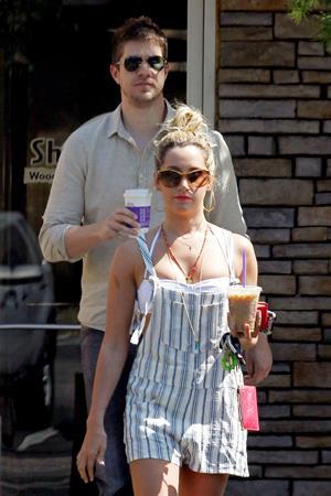 Ashley Tisdale Toluca Lake May 27, 2012