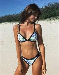 Dani Bonnor in a bikini