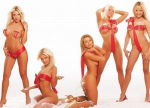 Hot Christmas Girls
