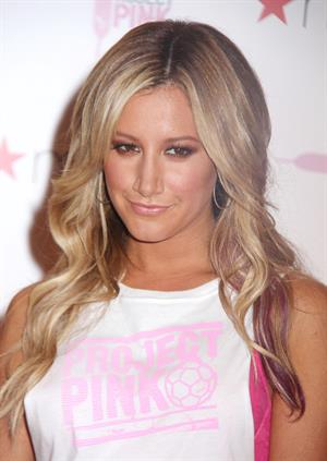 Ashley Tisdale - PUMA's  Project Pink  Launch Event in New York City (July 19, 2012)