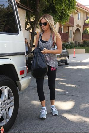 Ashley Tisdale - Leaves the Nine Zero One salon in West Hollywood (June 8, 2012)