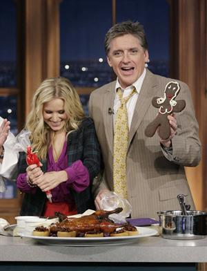 Kristen Bell 'The Late Late Show with Craig Ferguson' - December 11, 2008