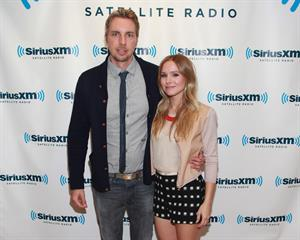 Kristen Bell - Visits the SiriusXM Studios in New York City (July 26, 2012)