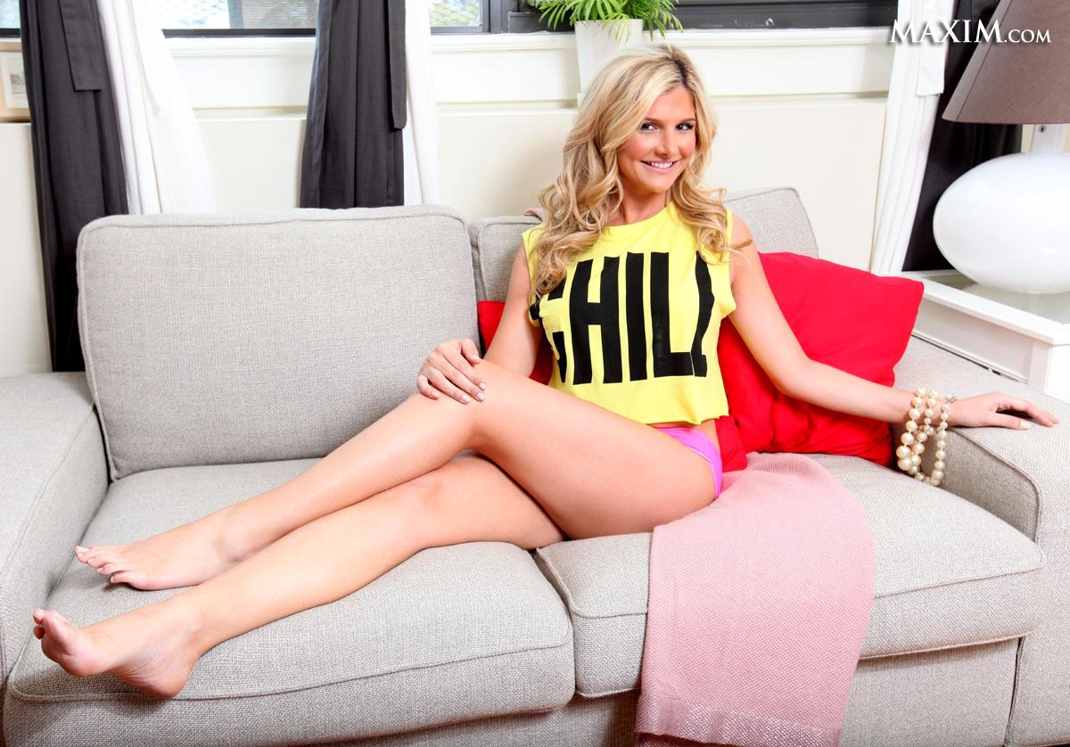 Ashleigh Hunt in lingerie