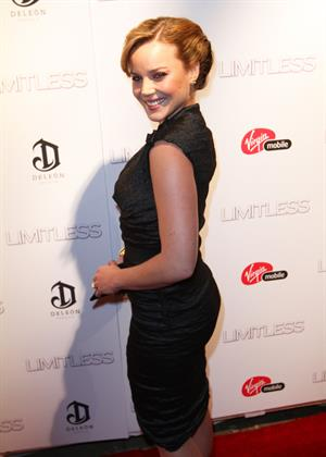 Abbie Cornish at the Limitless premiere in New York City 8/3/2011