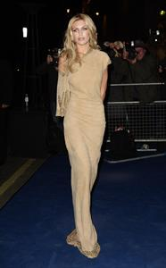Abigail Clancy British Fashion Awards in London on November 28, 2011