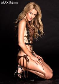 Ellen Hollman in lingerie