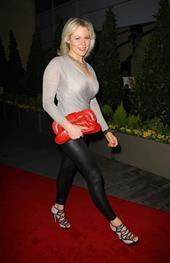 Abi Titmuss Hestia Charity Single Launch - Leather Celebrities