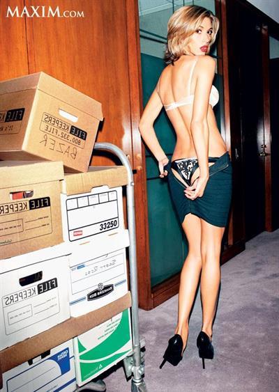Dawn Olivieri in lingerie