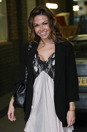 Adele Silva at ITV studios March 16, 2011
