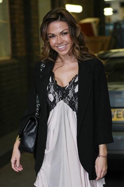 Adele Silva at ITV studios March 16, 2011