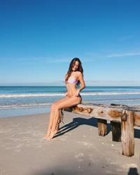 Steph Currie in a bikini