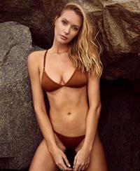 Carley Johnston in a bikini