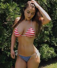 Emily Brooke Hurley in a bikini