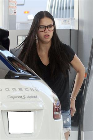 Adriana Lima in Miami 1/5/13