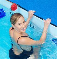 Adrienne Bailon – Swim for Relief Benefit, NY 10/9/13